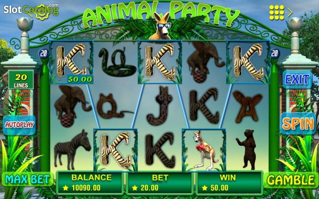 เกมสล็อตAnimal Party