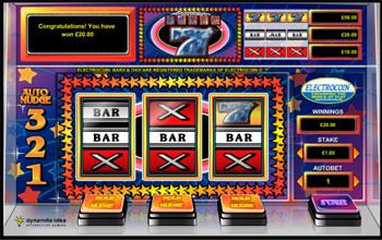 สล็อต แมชชีน เกมสล็อต Bar X Magic 7